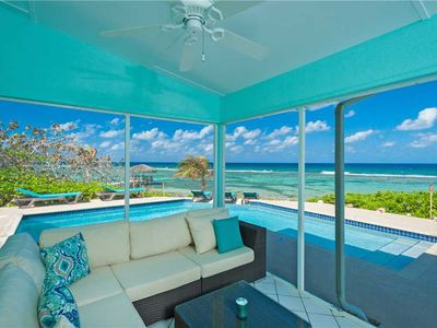 Photo for Calypso Blue: Perfect Family Villa on North Side w/ a Gorgeous Pool and Stunning Sunsets