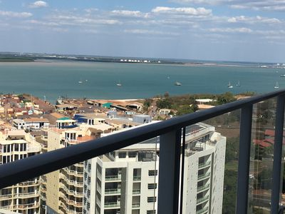 Photo for Darwin City Apartment With Harbour Views
