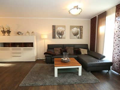 Photo for modern 2 room apartment on the ground floor