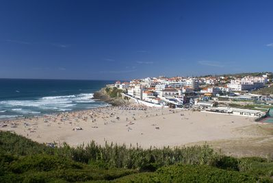Praia das Macas beach, just 5 minutes walk away