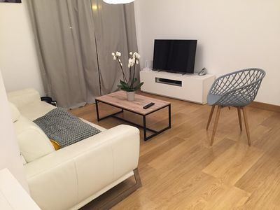 Photo for Beautiful apartment near the golf of Nivelle