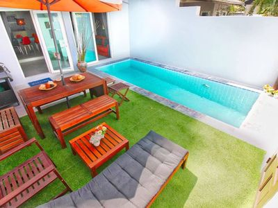 Photo for Modern Cozy Villa W/pool & Bbq Area - Near Beach