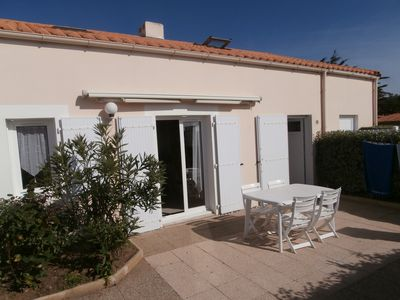 Photo for Large house with courtyard and parking- 150 m from the sea-near Sables d'Olon