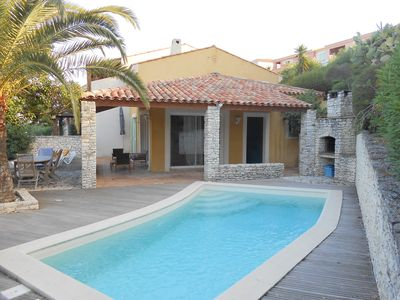 Photo for VILLA FARNIENTE 3 ch swimming pool with breathtaking views of the Gulf of Saint-Florent
