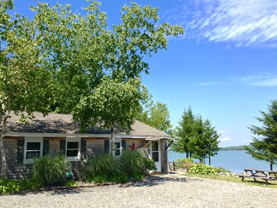 Photo for Charming Oceanfront Cottage-Great Views and 20 Feet from Shore