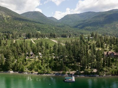 Photo for Secluded Cabins on Flathead Lake's East Shore