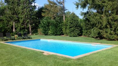 Photo for New Listing: Tuckahoe Residence Club Home Near Shinnecock Golf Course, Half-Acre Lot w/ Heated Pool