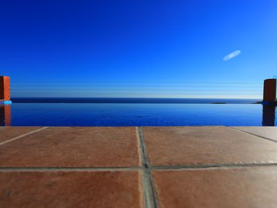 Photo for Amazing views,great infinity pool, large jacuzzi, indoor and outdoor cinema,wifi
