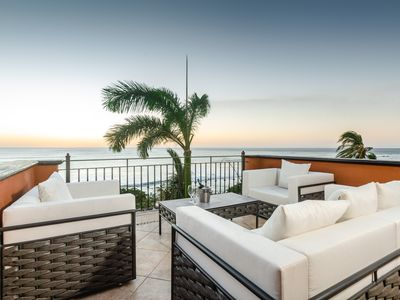 Photo for Stunning Remodeled OceanFront Penthouse, Sunsets, BBQ