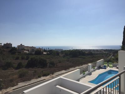 Photo for Seaview Sunset Villa, 2 Bedrooms, Private Pool, Fireplace
