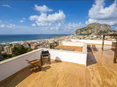 The best penthouse in Cefalù ( 140 mq of terrace)