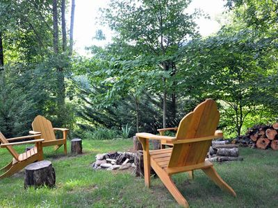 Photo for Valley View Cottage-Watershed Cabins-Outdoor Firepit