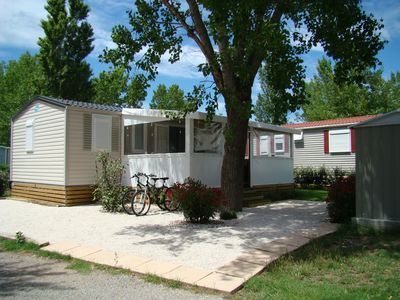 Photo for MOBILE HOME WITH NEW SEASIDE AIR for 4/6 people