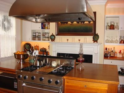 Fully renovated gourmet kitchen, incredible lighting