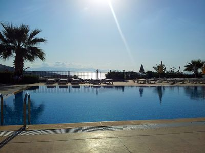 Photo for Spacious Yalikavak Apartment, Breathtaking Views, Communal Pools