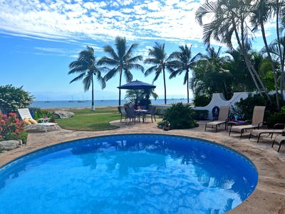 Photo for Casa Mariposa @La Puntilla, house 7A, ocean front with private pool