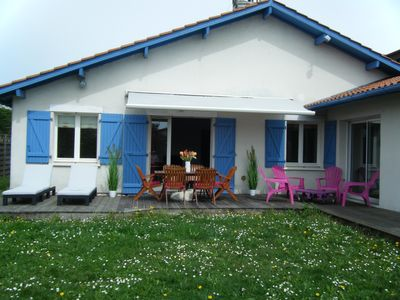 Photo for detached house quiet 8 people 3mn beach center of anglet