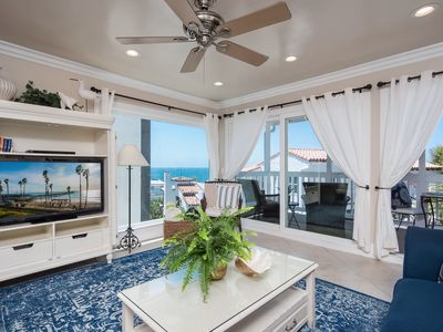 Photo for Coastal Condo! Pier Bowl Ocean Views From Living, Bedrooms, & More!