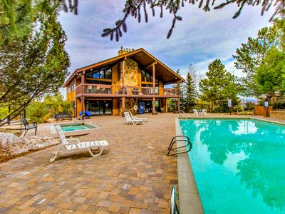 Photo for NEW LISTING! Charming condo at heart of the Canyons w shared pool, hot tub
