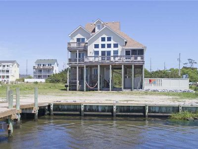 Photo for Stellar Windsurfing & Kiteboarding Spot! Soundfront w/ 35' Dock, Pool, Hot Tub