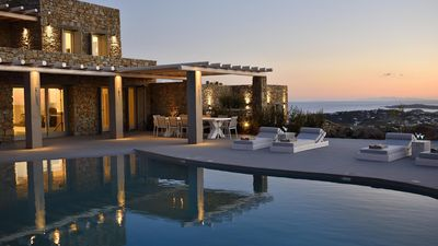 Photo for Villa Steff Mykonian Panoramica 5br upto 12guests Private Pool