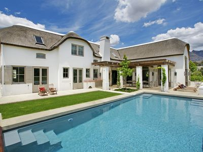 Photo for Beautiful villa to experience Franschhoek, Stellenboch and Paarl