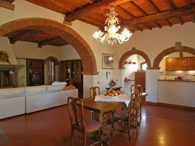 Photo for 4 bedroom Apartment, sleeps 8 in La Collina with Pool and WiFi
