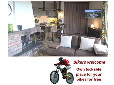 Photo for Directly at the bike park - service package for free included