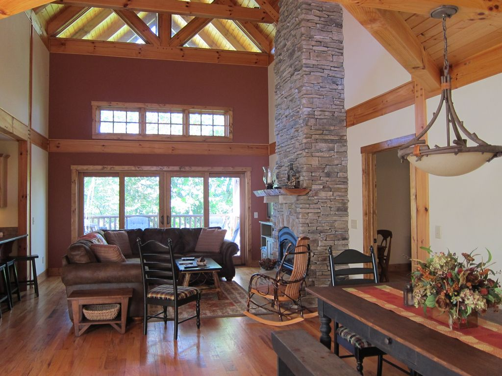 gray the cabin boone nc escape cabins homeaway honeymoon vacation rental in
