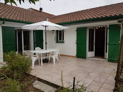 Photo for Villa with private garden in walking distance to shops and spa,Salies-de-Bearn.