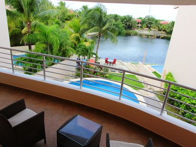 Photo for Beautiful Waterfront Condo In Puerto Aventuras,  Great Location!