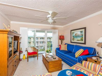Photo for Enjoy Island Living at Oceanfront Condominium! Includes Pool, Beach Access, and Ocean View