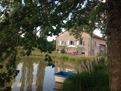 Photo for 3BR Farmhouse Vacation Rental in Champniers-Et-Reilhac, Nouvelle-Aquitaine