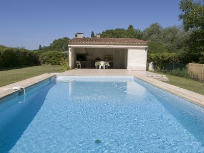 Photo for ground floor villa with pool