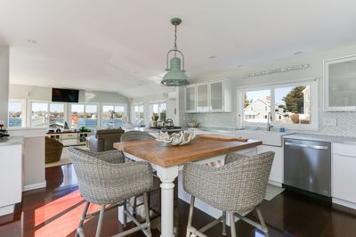 Large open kitchen and family room