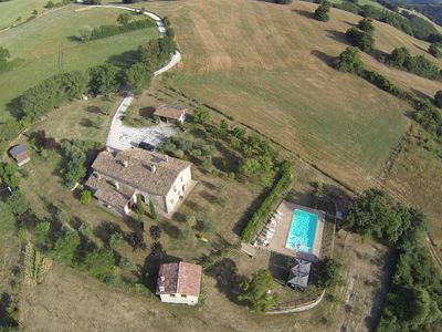 Photo for Villa Cardellini, a eighteenth-century farmhouse with private pool