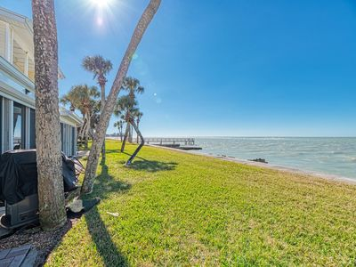 Photo for 2 bdr. waterfront town-home on Siesta Key - Sunsets from your patio