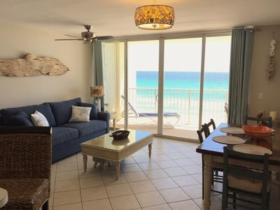 Photo for Come stay at DRIFT AWAY- 1 bedroom gulf front condo with free beach chairs