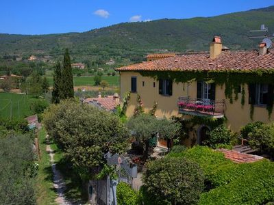 Photo for Holiday apartment Cortona for 4 - 6 persons with 2 bedrooms - Historical building