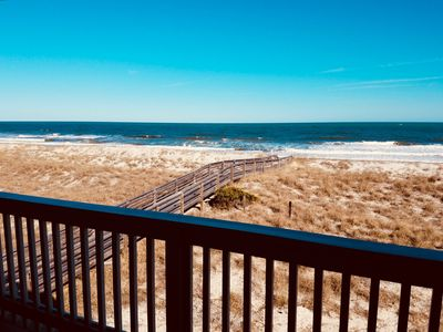 Photo for NEW CONSTRUCTION Oceanfront Condo w/ POOL in the heart of Carolina Beach!
