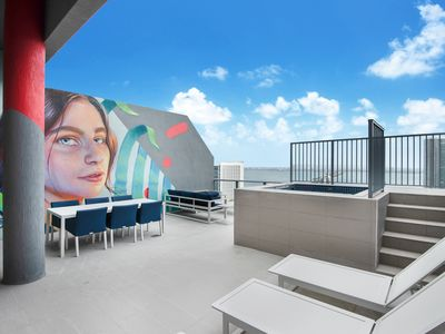 Photo for Panoramic Penthouse with Private Rooftop at the Hyde