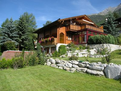 Photo for Chalet Grächen / St. Niklaus with panoramic views of several four-thousanders