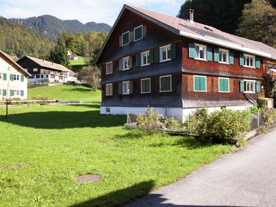 Photo for Farmhouse appartment in a quiet location in the Bregenzerwald region.