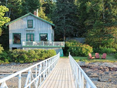 Photo for Acadia Oceanfront Southwest Harbor w/Dock -  3Bdrm/2Bath