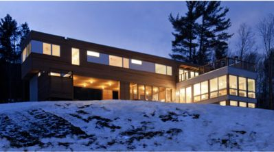Photo for Modern Dwell House on 40 Acres in the Catskills