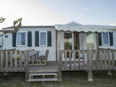 Photo for Camping L'Ile du Rhin ** - Cozy Mobil Home 3 Rooms 6 People