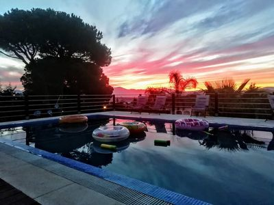 Photo for Beautiful Villa 10 persons, private pool, Alhaurin De La Torre, Malaga