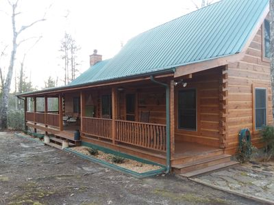 Photo for New Owners of 1159 Wilderness Trail Oneida Tn.  Cabin sits on 5 acres of land.