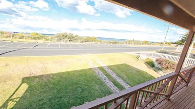 Photo for BEACHSIDE: 39 Scenic Drive- Across from the beach, central and sunny!