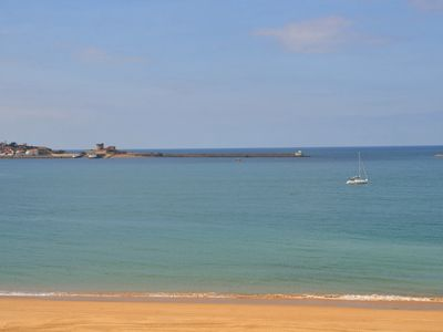 Photo for Luxury sea view holiday flat in Saint-Jean-de-Luz